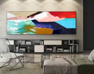 Abstract Canvas Art - Large Painting on Canvas, Contemporary Wall Art, Original Oversize Painting XaS413,large canvas wall art