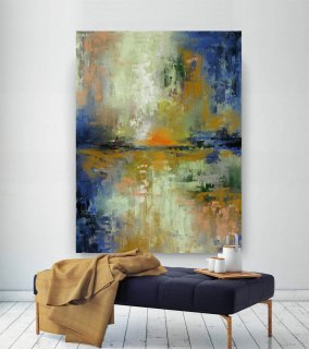 LargeWall Art Original Abstract Painting for Decor Contemporary Wall Art Modern Art Extra Large Original Abstract Painting on Canvas CHS054,abstract canvas wall art
