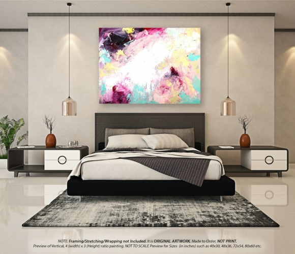 Original Abstract Art - Acrylic Painting, Extra Large Wall Art, Canvas Art, Painting Oil, Wall Decor Living Room, Modern Wall Decor YNS005,colorful abstract art