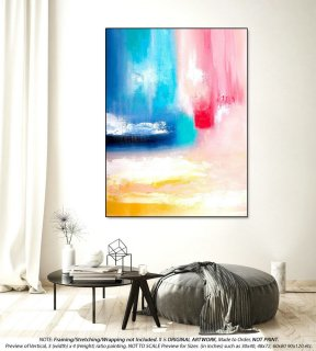 Office Decor Large Abstract Painting - Large Abstract Canvas Art, Oversized Paintings, Original Paintings on Canvas, Canvas Wall ArtYNS131,bathroom interior
