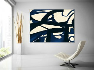 Extra Large Wall Art,Minimal Abstract Painting,Contemporary Painting on Canvas,Large Canvas Art,Huge Abstract Painting,Living Room PaS050,abstract wall decor