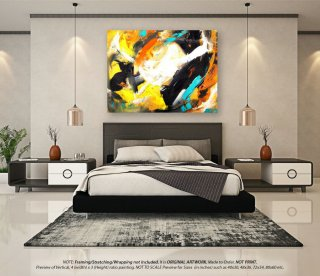 Extra Large Abstract Painting - Acrylic Painting, Original Art, Oil Paintings, Extra Large Wall Art, Abstract Canvas Art, Home Decor YNS044,albert hadley
