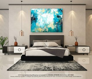 Extra Large Abstract Painting - Acrylic Painting, Original Oil Painting, Wall Art Canvas, Housewarming gift, Textured Artwork YNS001,salon interior design