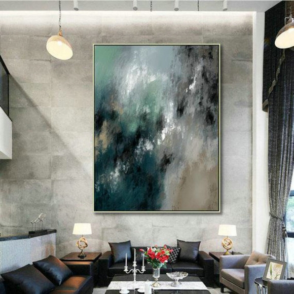 LargeWall Art Original Abstract Painting for Decor Contemporary Wall Art Modern Art Extra Large Original Abstract Painting on Canvas MaS006,virtual interior design