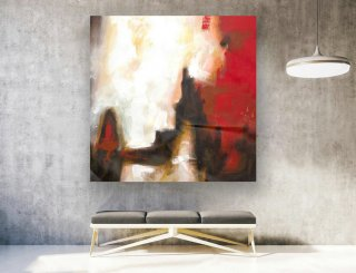 Abstract Canvas Art - Large Painting on Canvas, Contemporary Wall Art, Original Oversize Painting LAS127,study interior design