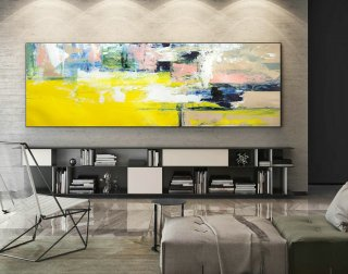 Abstract Canvas Art - Large Painting on Canvas, Contemporary Wall Art, Original Oversize Painting XaS235,famous modern paintings