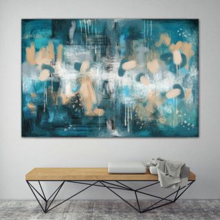 LargeWall Art Original Abstract Painting for Decor Contemporary Wall Art Modern Art Extra Large Original Abstract Painting on Canvas ChS006,swedish interior design