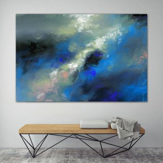 LargeWall Art Original Abstract Painting for Decor Contemporary Wall Art Modern Art Extra Large Original Abstract Painting on Canvas MaS025,abstract dog painting