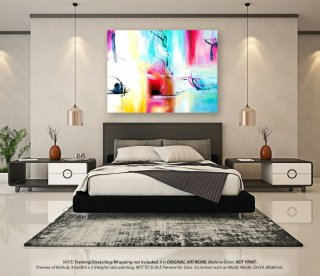Large Abstract Painting Wall art decor - Extra Large Wall Art, Oversized Paintings on Canvas, Canvas Wall Art, Oversized PaintingsYNS174,ikea interior