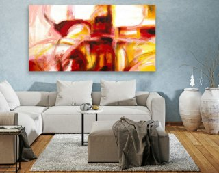 Large Canvas Art - Abstract Painting on Canvas, Contemporary Wall Art, Original Oversize Painting LAS110,large abstract art