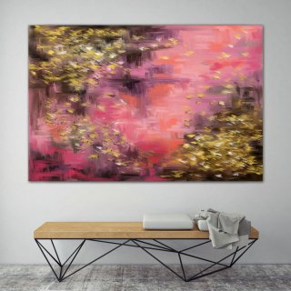LargeWall Art Original Abstract Painting for Decor Contemporary Wall Art Modern Art Extra Large Original Abstract Painting on Canvas ChS005,modern landscape painting