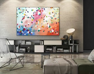 Extra Large Wall art - Abstract Painting on Canvas, Contemporary Art, Original Oversize Painting LaS412,alexander interiors