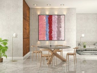 Contemporary Wall Art - Abstract Painting on Canvas, Original Oversize Painting, Extra Large Wall Art LaS504,contemporary house decor
