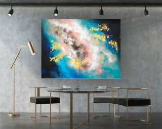 Abstract Painting,Large Wall Art,Paintings On Canvas,Extra Large Wall Art,Abstract Canvas Art,Large Abstract Painting,Contemporary laS603,brick wall design living room