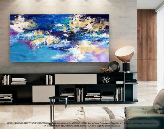Wall Art Decor Large Abstract Art - Abstract Painting on canvas, Original Paintings on Canvas, Modern Abstract Art , Office Wall Art DMS092,abstract artists modern