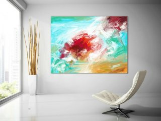 Original Art Abstract Painting,Extra Large Wall Art on Canvas, Hand painted Contemporary Abstract Art, Painting on Canvas, Modern Art PaS002,norwegian interior design