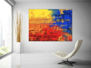LargeWall Art Original Abstract Painting for Decor Contemporary Wall Art Modern Art Extra Large Original Abstract Painting on Canvas GaS004,500 sq ft house interior design