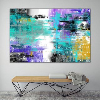 LargeWall Art Original Abstract Painting for Decor Contemporary Wall Art Modern Art Extra Large Original Abstract Painting on Canvas GaS005,large canvas prints ikea