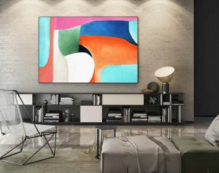Abstract Canvas Art - Large Painting on Canvas, Contemporary Wall Art, Original Oversize Painting LaS350,etsy abstract paintings