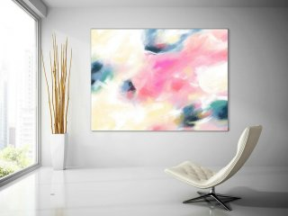 Extra Large Painting on Canvas, Original Abstract Art,Contemporary Abstract Paintings, Large Paintings on Canvas, UNSTRETCHED PaS134,spanish style interior design