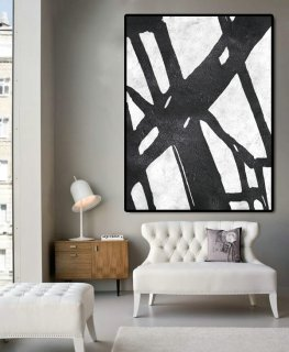 Huge Abstract Painting On Canvas, Vertical Canvas Painting, Extra Large Wall Art, Abstract Art, Handmade.,modern art famous artists