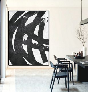 Extra Large Painting On Canvas, Textured Painting Canvas Art, Black And White Original Art Handmade.,turquoise abstract art