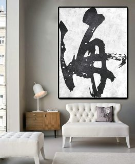 Huge Abstract Painting On Canvas, Vertical Canvas Painting, Extra Large Wall Art, Abstract Art, Handmade.,abstract pottery
