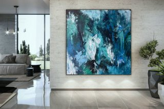 Large Painting on Canvas,Original Painting on Canvas,painting original,xl abstract painting,canvas large,original textured DAC011,abstract watercolor painting for beginners