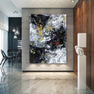 Large Abstract Painting,Modern abstract painting,texture art painting,large oil art,large abstract art,textured painting BNc095,the metropolitan museum of modern art