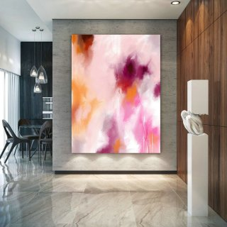 Original Painting,Painting on Canvas Modern Wall Decor Contemporary Art, Abstract Painting Pac452,frames for large canvas paintings