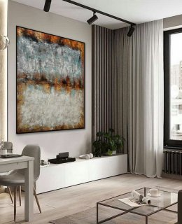 Texture Minimalist Contemporary Art Work Hand Made Acrylic Canvas Painting Large Minimal Artwork Modern Neutral Abstract Wall Art,extra large abstract canvas