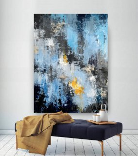 Extra Large Abstract Painting - Modern Art, New Home Decor,Canvas Art, Acrylic Painting ,Textured Art, Contemporary Art,Large Artwork BNc017,buy abstract art online