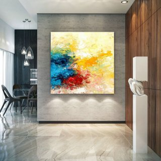 Extra Large Wall Art Original Art Bright Abstract Original Painting On Canvas Extra Large Artwork Contemporary Art Modern Home Decor lac670,leah dickerman museum of modern art