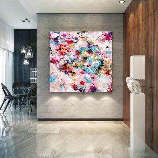Extra Large Wall Art on Canvas, Original Abstract Paintings , Contemporary Art, Mdoern Living Room Decor ,Office Oversize Artworks lac637,the tate modern gallery