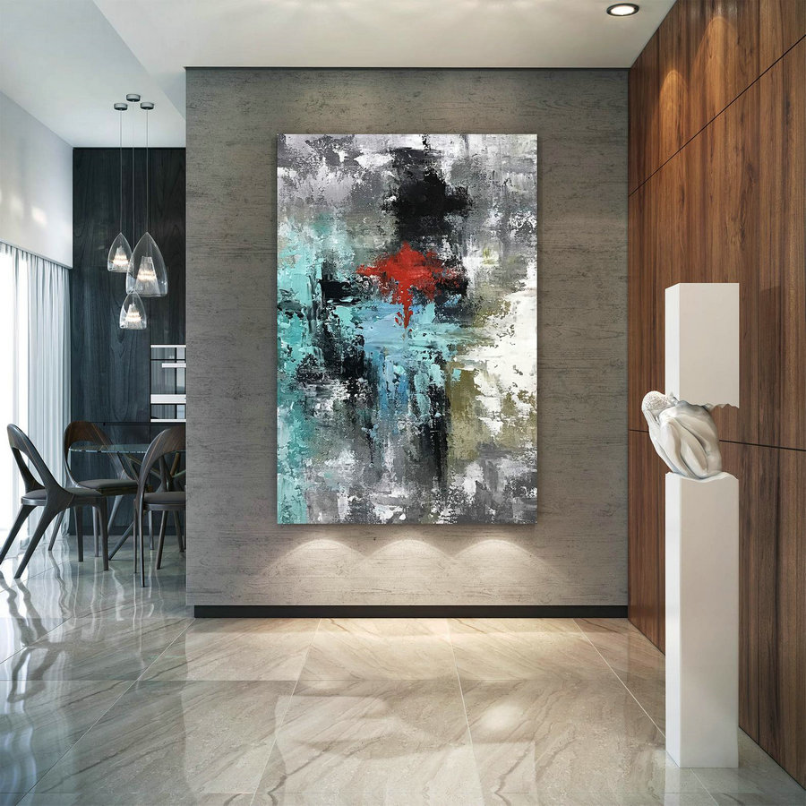 Large Original Abstract Painting Modern Art Living Room Decor Paintings On Canvas Wall Art Original Painting Office Decor D2c034 Modern Mandala Art
